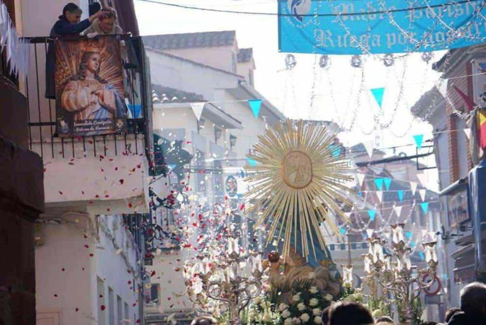 Fotografías de la procesión del día dedicado a María Inmaculada en Herencia 12