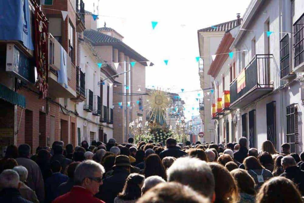 Fotografías de la procesión del día dedicado a María Inmaculada en Herencia 15