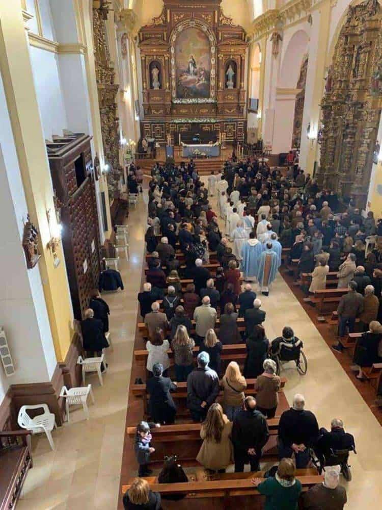 Fotografías de la procesión del día dedicado a María Inmaculada en Herencia 16