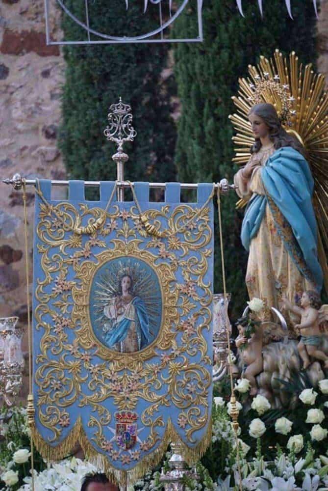 Fotografías de la procesión del día dedicado a María Inmaculada en Herencia 2