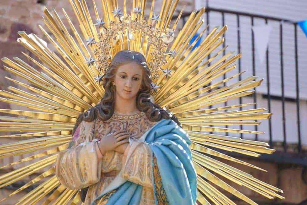 Fotografías de la procesión del día dedicado a María Inmaculada en Herencia 4