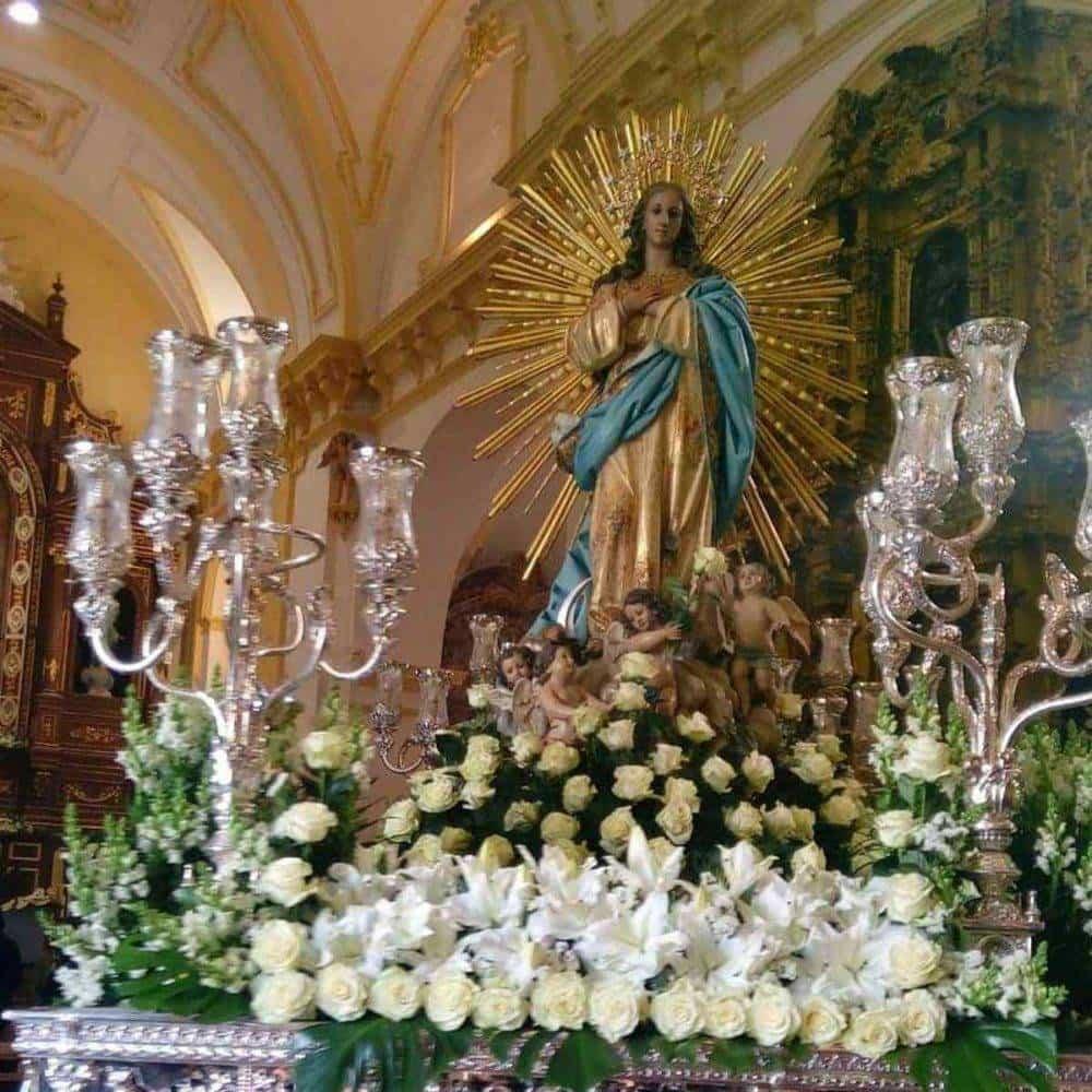 Fotografías de la procesión del día dedicado a María Inmaculada en Herencia 5