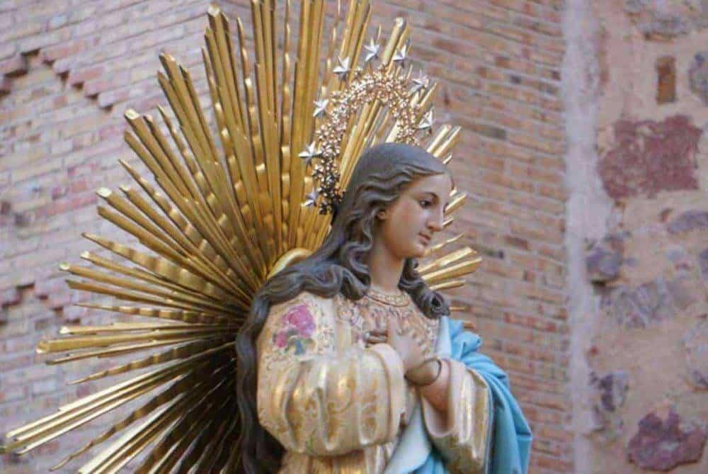 Fotografías de la procesión del día dedicado a María Inmaculada en Herencia 6