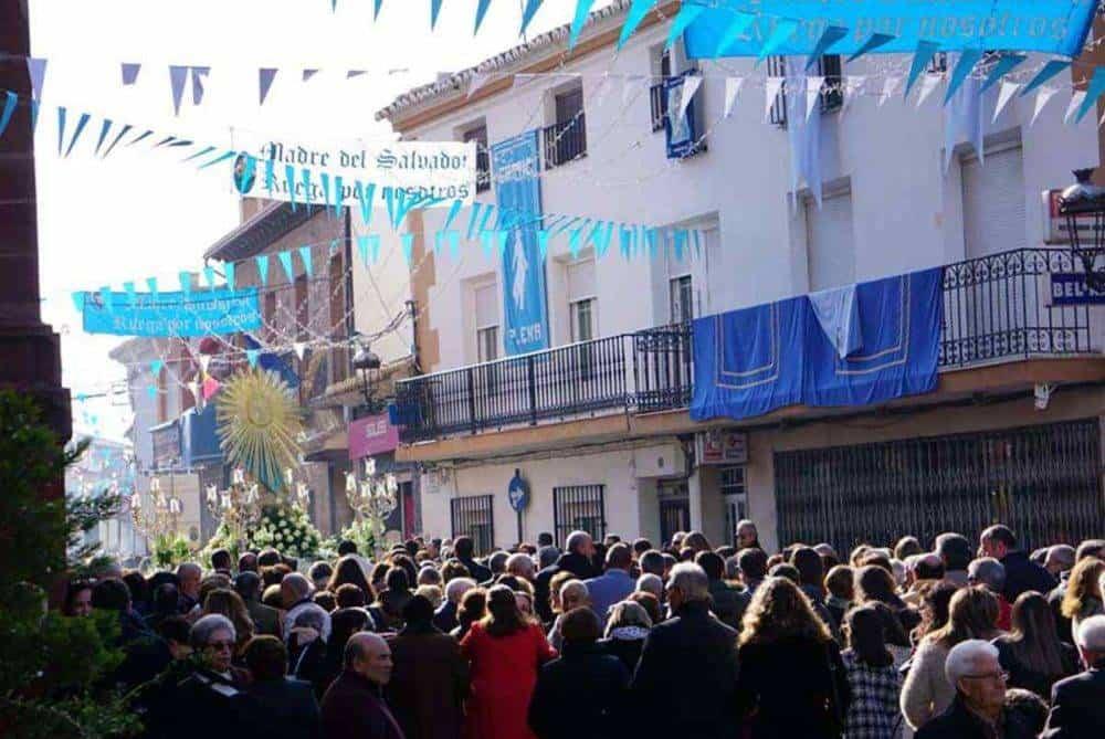 Fotografías de la procesión del día dedicado a María Inmaculada en Herencia 9
