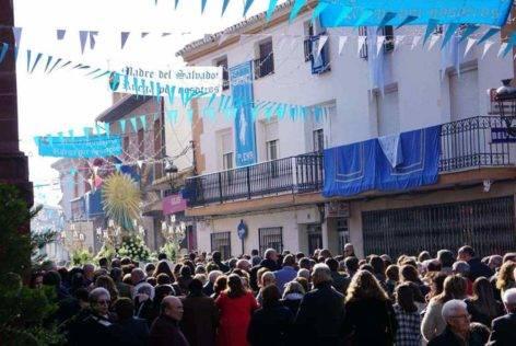 dia de inmaculada concepcion patrona herencia 9 472x316 - Fotografías de la procesión del día dedicado a María Inmaculada en Herencia