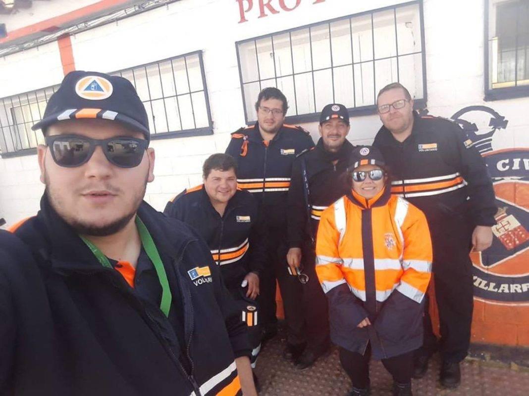 formacion proteccion civil herencia 15 1068x801 - Fin de semana de formación de Protección Civil de Herencia