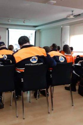 formacion proteccion civil herencia 3 280x420 - Fin de semana de formación de Protección Civil de Herencia