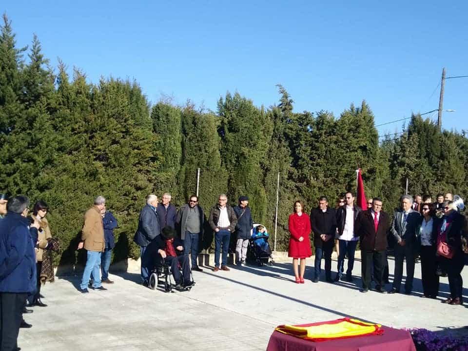 Izada de la bandera de España por los 40 años de la Constitución 1