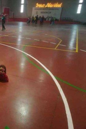 """jugando balonmano herencia navidad 5 280x420 - Navidades deportivas celebró """"Jugando al Balonmano"""""""