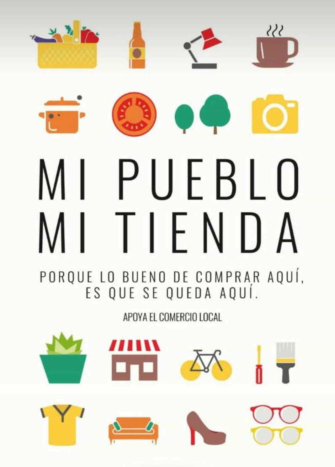 """mi pueblo mi tienda herencia 1068x1489 - """"Mi pueblo mi tienda"""" es el lema de la nueva campaña del Comercio de Herencia"""