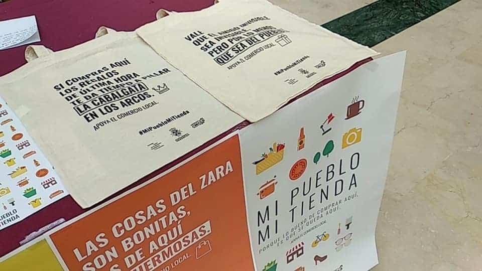 """nueva campana del Comercio Herencia2 - """"Mi pueblo mi tienda"""" es el lema de la nueva campaña del Comercio de Herencia"""