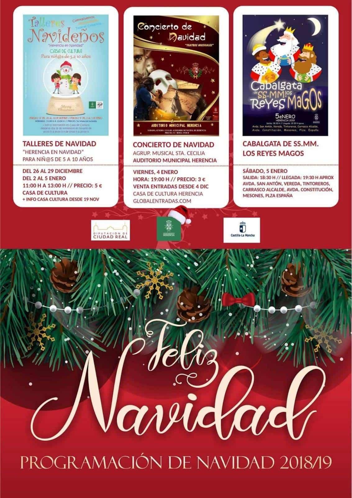 programacion especial navidad herencia 2018 - La programación especial de navidad llena de luz e ilusión Herencia