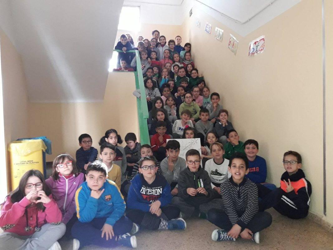 radio escolar ceip carrasco alcalde herencia 1068x801 - La radio escolar del CEIP Carrasco Alcalde lanzó su programa 3: ¿Qué se cuece?