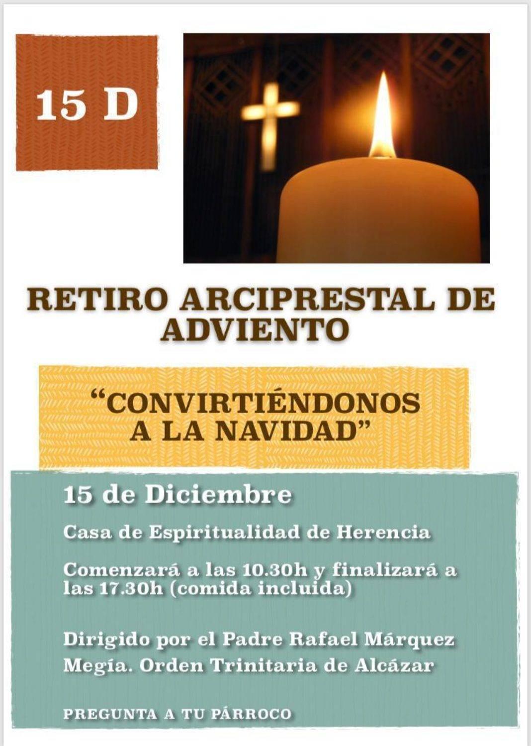 Retiro arciprestal de adviento y otras actividades parroquiales 10
