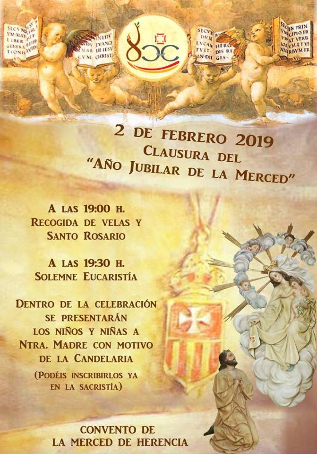 Clausura Año Jubilar Mercedario en Herencia 1068x1528 - Clausura del Año Jubilar de la Merced