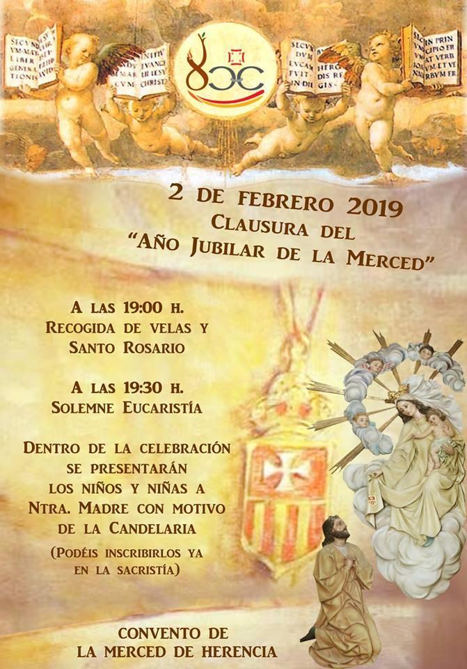 Clausura Año Jubilar Mercedario en Herencia - Clausura del Año Jubilar de la Merced
