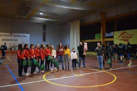 Homenaje a los representantes en el Campeonato de Espana de Selecciones Autonomicas