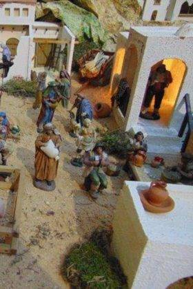 IV muestra de belenes navidad herencia 12 280x420 - Fotografías de la IV Muestra de Belenes de Herencia