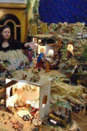 IV muestra de belenes navidad herencia 4 280x420 - Fotografías de la IV Muestra de Belenes de Herencia