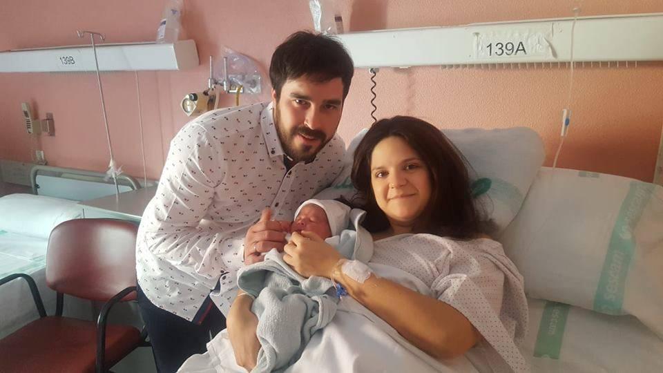 Marco primer niño de 2019 es de HErencia - Marco, el primer bebé de 2019 nacido en Alcázar de San Juan, es de Herencia