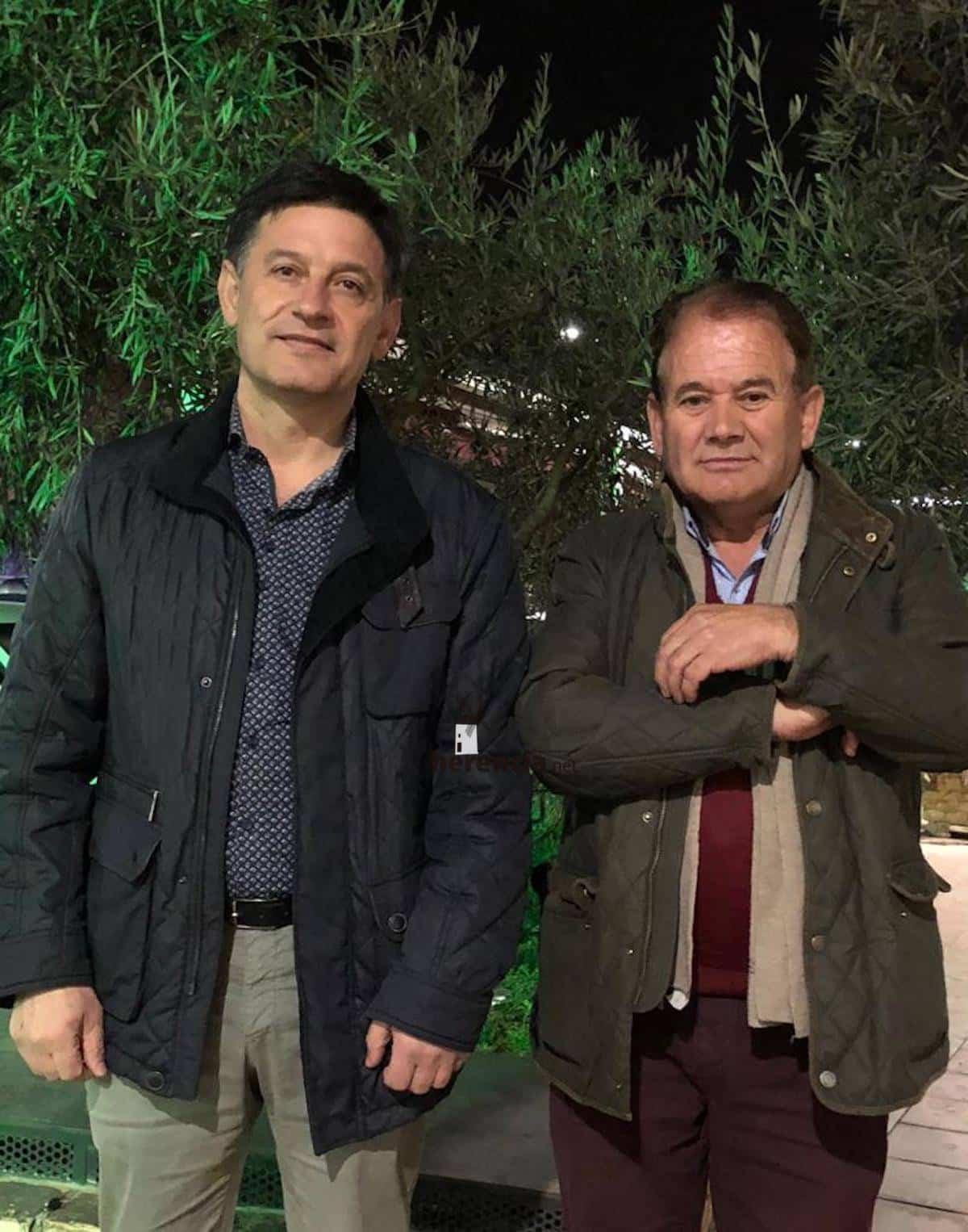 Reunión con Teodomiro Carrero, presidente CUAS Consuegra Villacañas