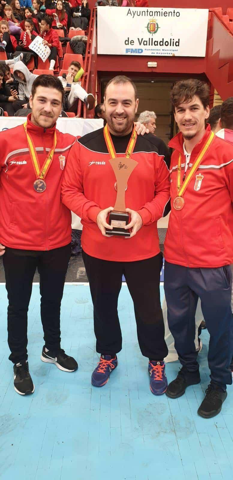 Enhorabuena a los herencianos por sus éxitos en la Copa de España de balonmano 3