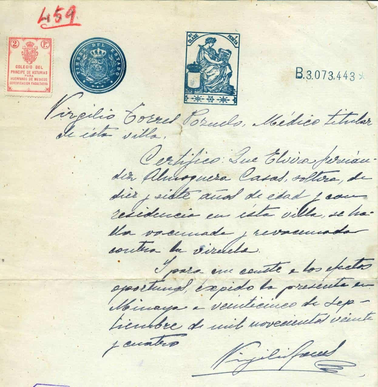 elvira 15 - Elvira Fernández-Almoguera Casas, primera fiscal en la historia de España