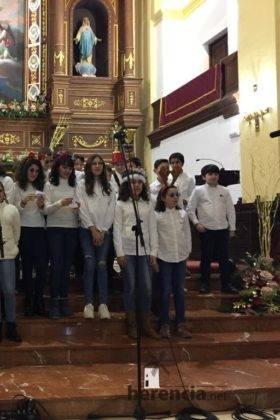 festival villancicos parroquia herencia 23 280x420 - Galería del Festival navideño de villancicos en la parroquia de Herencia