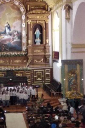 Galería del Festival navideño de villancicos en la parroquia de Herencia 3