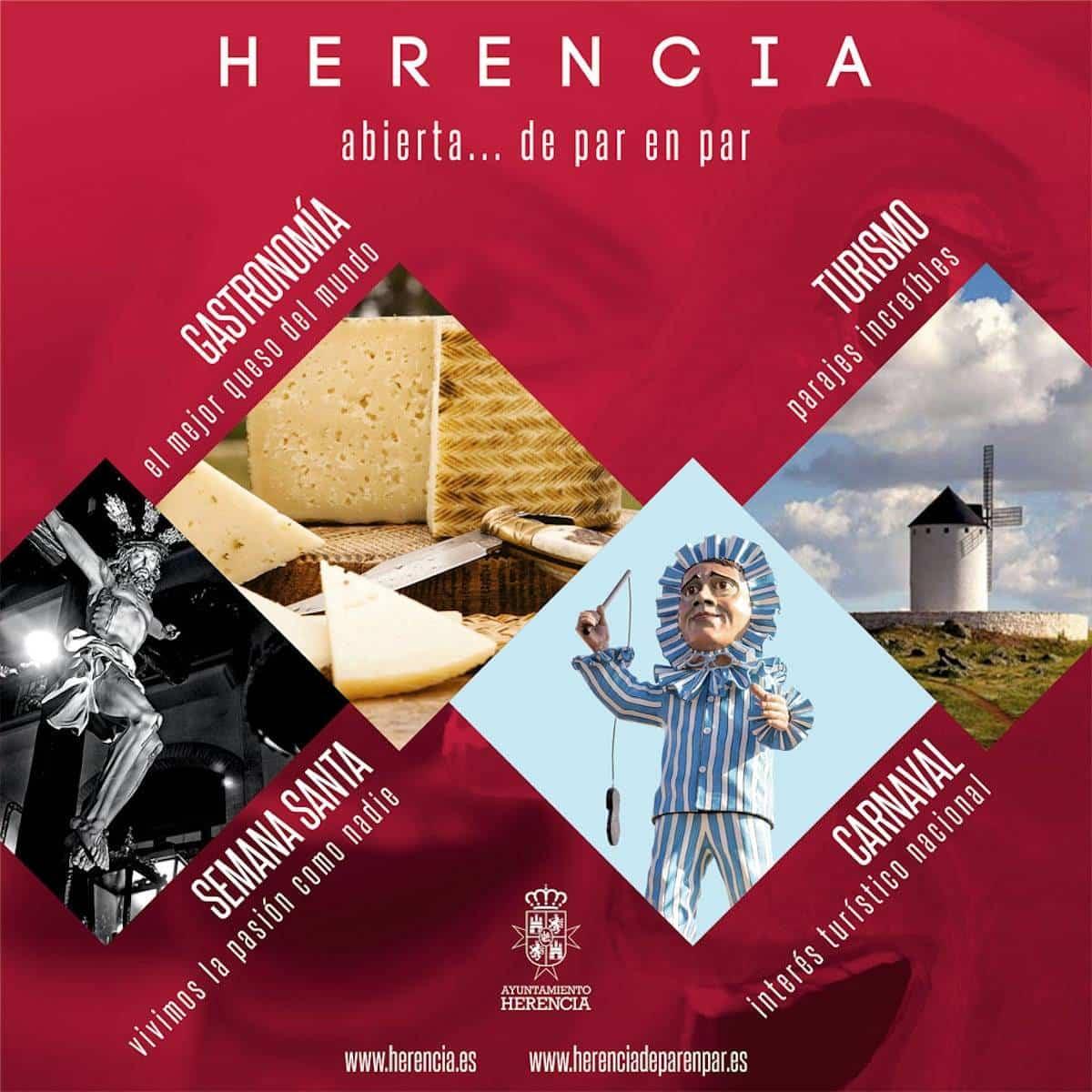 herencia ciudad real turismo carnaval - El Carnaval de Herencia estará presente en FITUR 2019