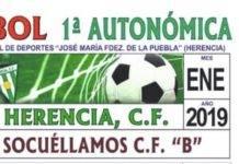 Herencia C.F. se enfrenta al Socuellamos para seguir sumando puntos