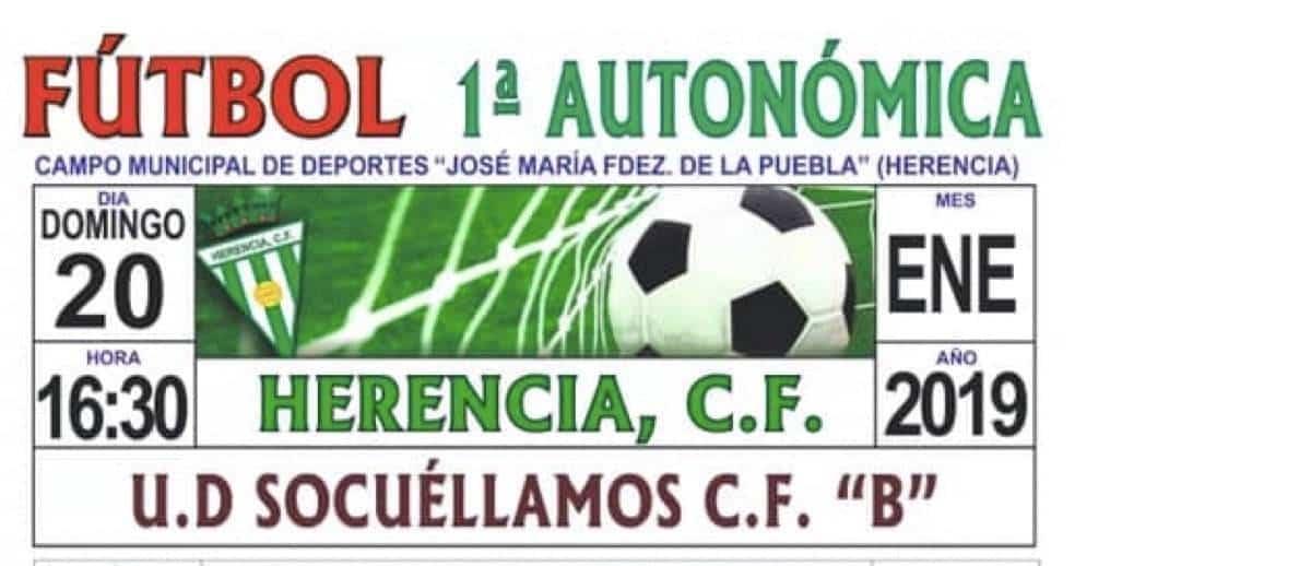 herencia futbol socuellamos herencia - Herencia C.F. se enfrenta al Socuellamos para seguir sumando puntos