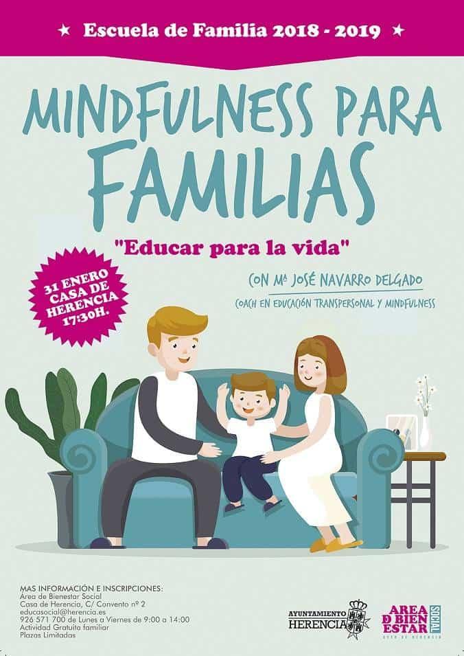 Mindfulness para familias, la nueva charla-taller de la Escuela de Familia 3