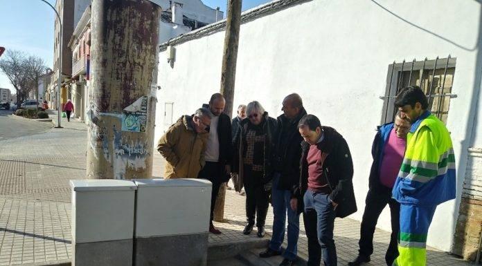 Nuevas instalaciones de bombeo en el Barrio de San Antón en Herencia