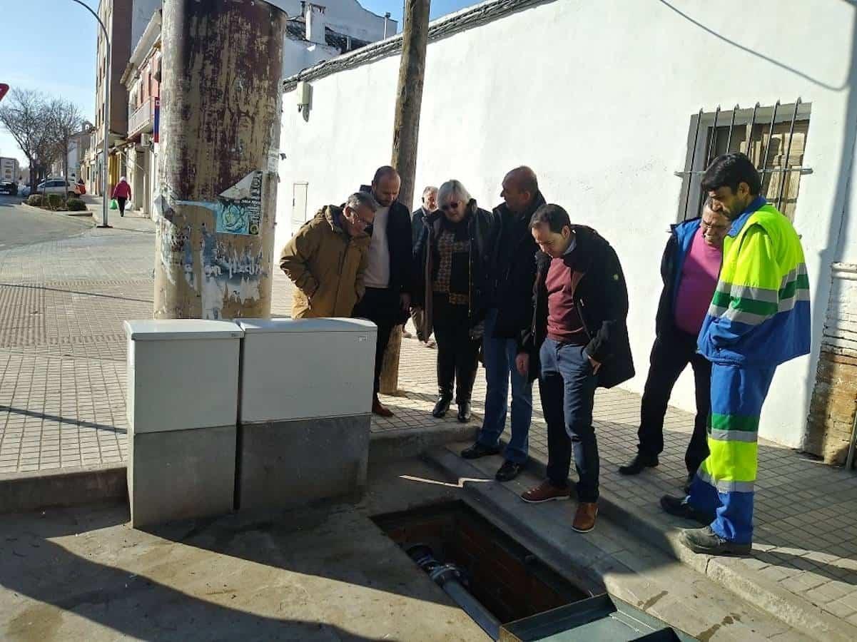 Nuevas instalaciones de bombeo en el Barrio de San Antón en Herencia 3