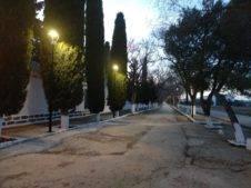 nuevo iluminacion cementerio herencia