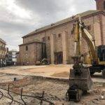 Galería de fotos de la Plaza de España en obras 20
