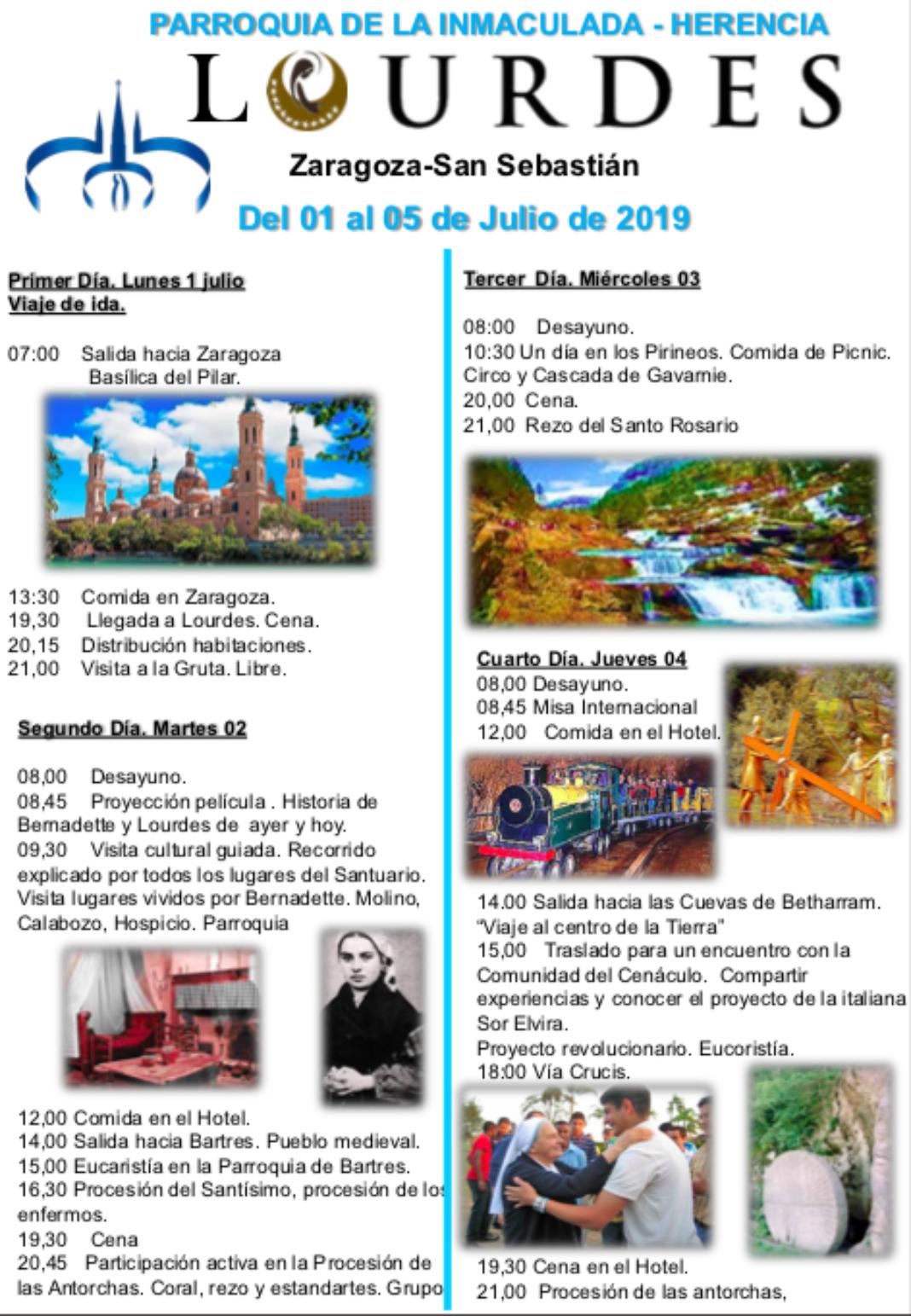 La parroquia de Herencia prepara un viaje-peregrinación a Lourdes 13