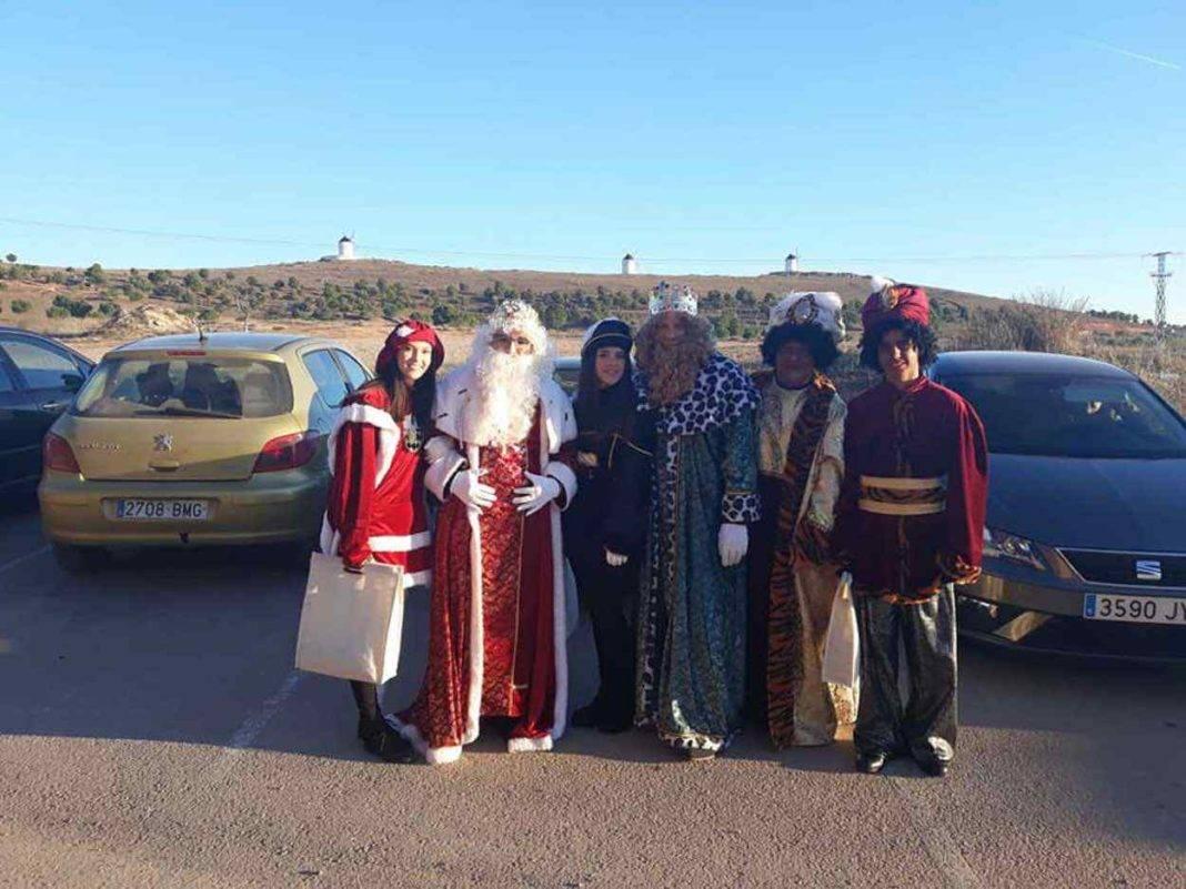 Los Reyes Magos visitarón la Residencia San Francisco 1