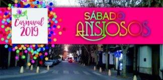 """""""El Sábado de los Ansiosos"""" del Carnaval 2019 se celebrará en la Avenida de la Constitución"""