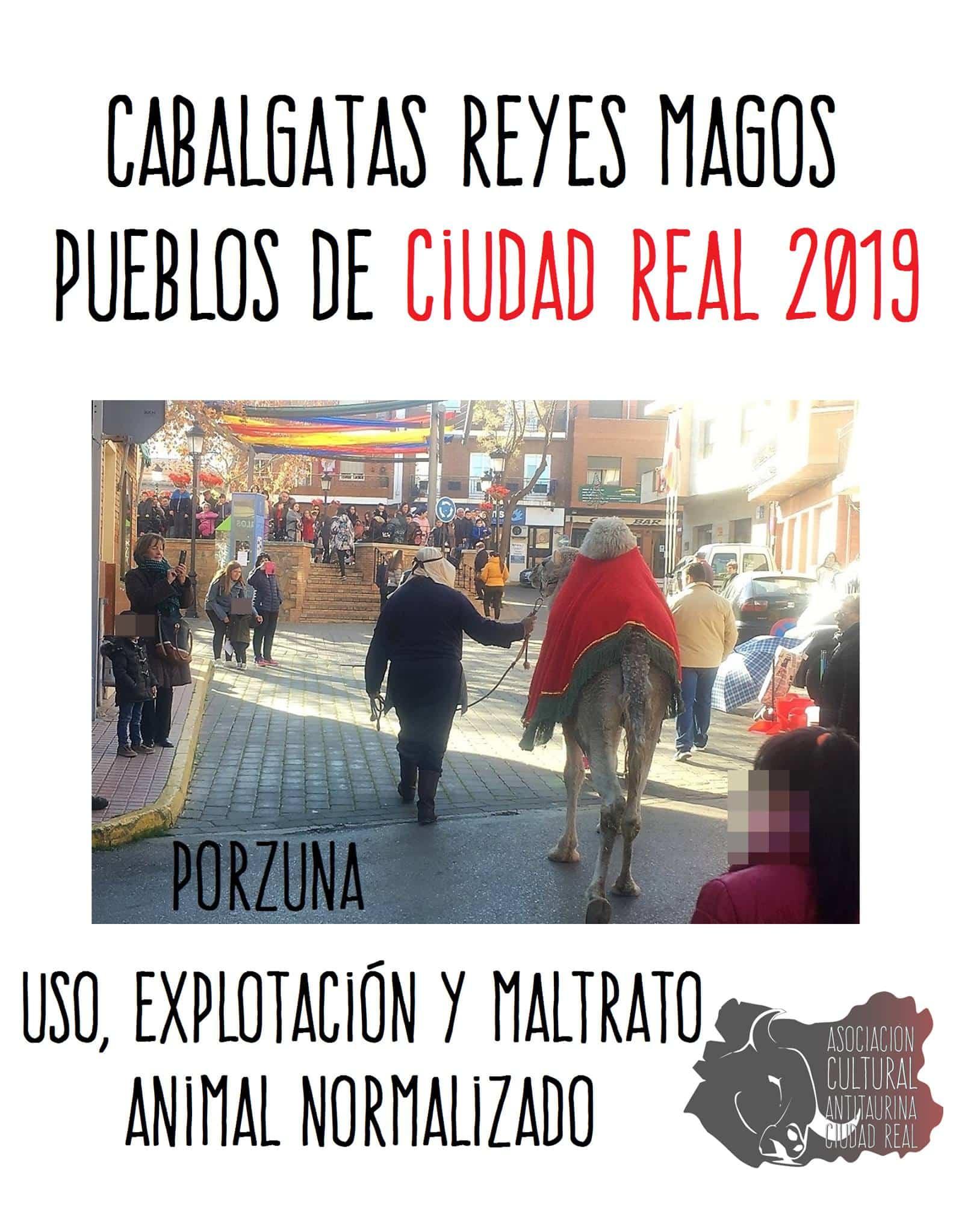 """Denuncian """"maltrato animal"""" en cabalgatas de reyes de la provincia de Ciudad Real 3"""
