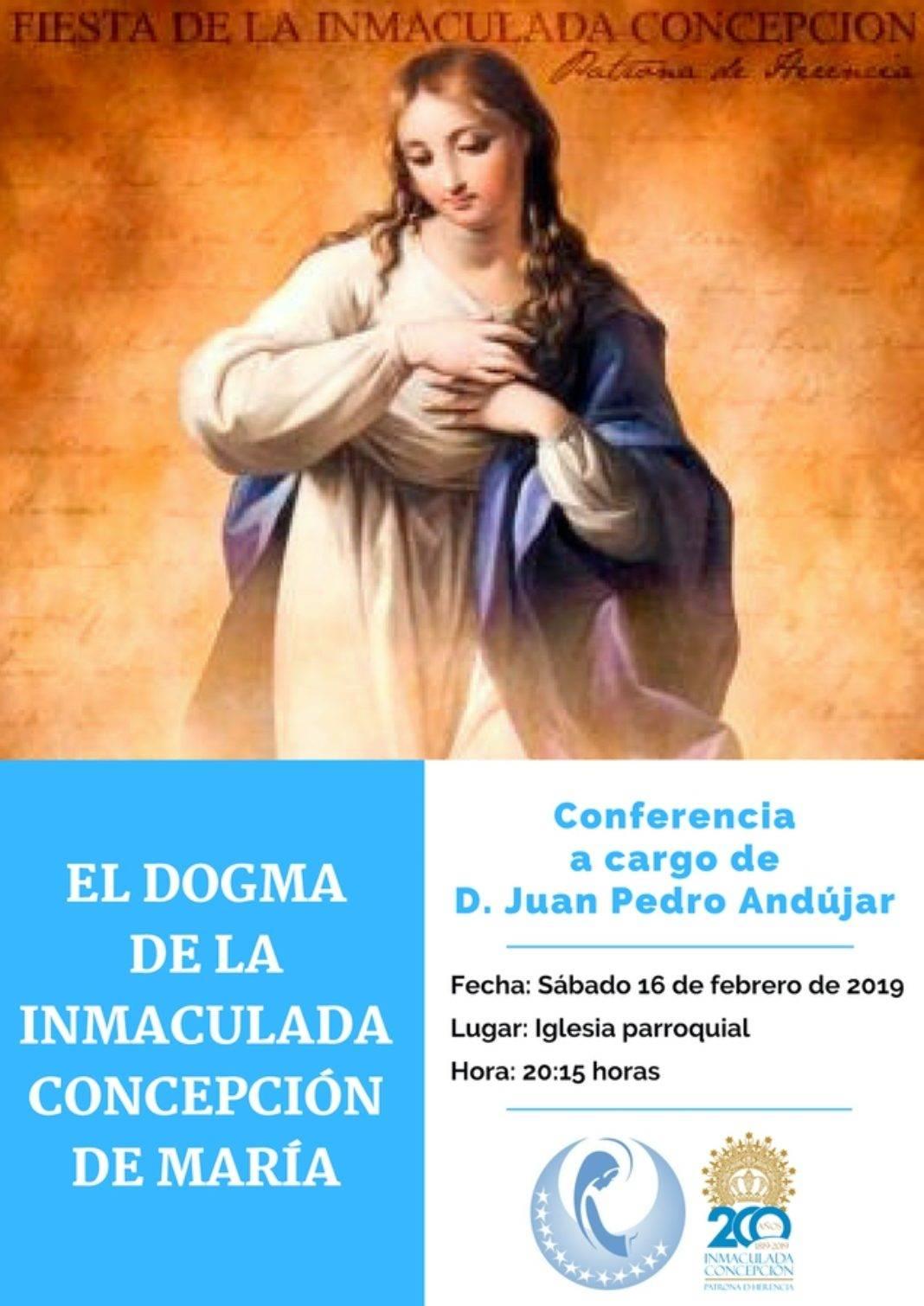 Juan Pedro Andújar dará una conferencia en Herencia sobre el dogma de la Inmaculada Conepción 7