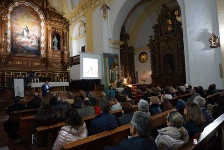 Conferencia Enrique Rodríguez de Tembleque sobre el cuadro de la Inmacualda Concepción de Zacarias González Velázquez de Herencia0006