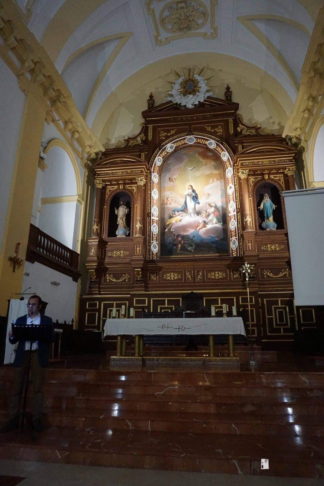 Vídeo de la conferencia de Enrique Rodríguez de Tembleque sobre el cuadro de la Inmaculada Concepción de Herencia 17