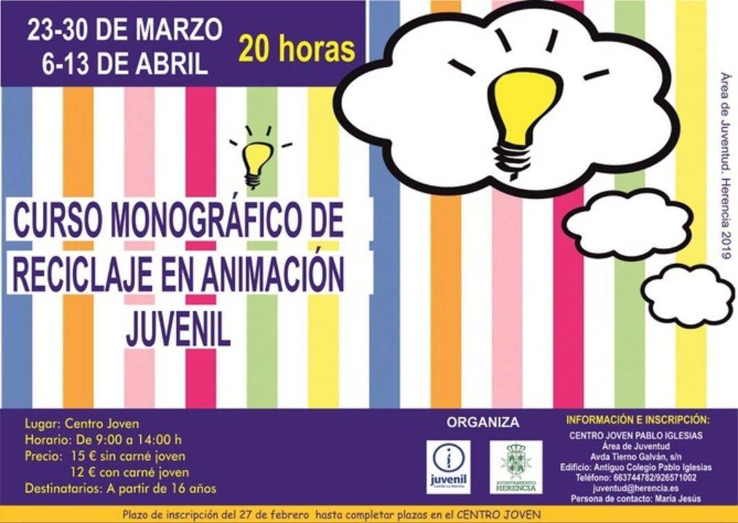 Curso de reciclaje en animación 1 1068x757 - Juventud organiza un curso de reciclaje en animación juvenil