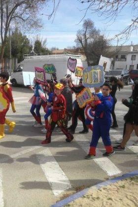 Fotografías del Desfile Escolar de Carnaval del CEIP Carrasco Alcalde 2