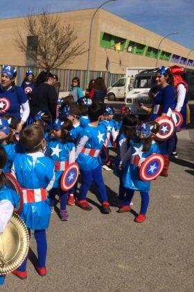 Desfile Escolar del CEIP Carrasco Alcalde 23 280x420 - Fotografías del Desfile Escolar de Carnaval del CEIP Carrasco Alcalde