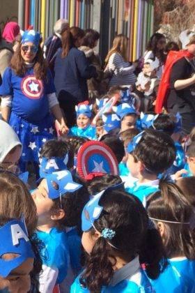 Desfile Escolar del CEIP Carrasco Alcalde 32 280x420 - Fotografías del Desfile Escolar de Carnaval del CEIP Carrasco Alcalde