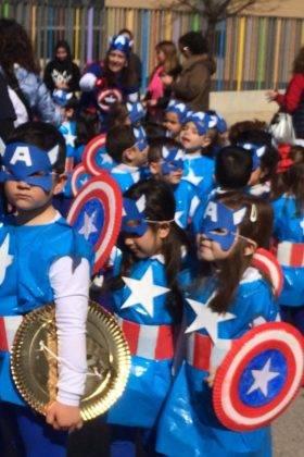 Fotografías del Desfile Escolar de Carnaval del CEIP Carrasco Alcalde 34