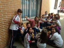 Dia del Bocadillo en el colegio Nuestra Señora de las Mercedes de Herencia